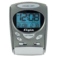 Elgin 3400E LCD Alarm Clock
