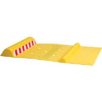 Maxsa Innovations 37356 Innovative Park Right Parking Mat - Bright Yellow