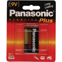 Panasonic 6AM-6PA/1B 9V Alkaline Plus� Battery Retail Pack - Single