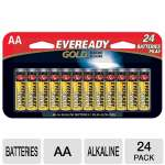 Eveready A91BP24HT AA Alkaline Bulk Pack - 24-Pack