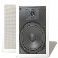 "BIC America CONCEPT-6 6"" 100-Watt 2-Way In-Wall Weather-Resistant Speakers"