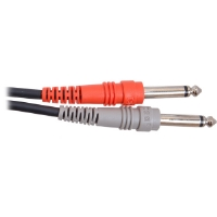 Hosa CPP-201 1 meter Unbalanced Dual Cable