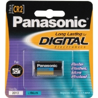 Panasonic CR-2PA/1B CR2 Photo Lithium Battery Retail Pack - Single