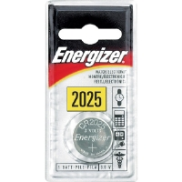Energizer ECR-2025BP 3V Lithium Button Cell Battery Retail Pack - Single