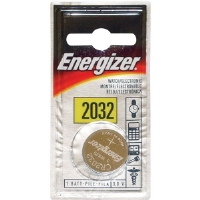 Energizer ECR-2032BP 3V Lithium Button Cell Battery Retail Pack - Single