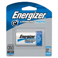 Energizer EL-CRV3BP CVR3 Advanced Photo Lithium Battery Retail Pack - Single