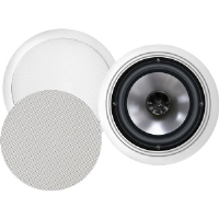 "BIC America FH6-C 6.5"" 150-Watt 2-Way In-Ceiling Speakers With Swivel Mid/High Frequency Horns"