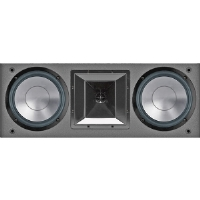 "BIC America FH6-LCR Dual 6.5"" 175-Watt LCR Speaker With Mid/High Frequency Horn"