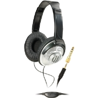 JVC HA-V570 Full-Size DJ Headphones With In-Line Volume Control - With In-Line Volume Control