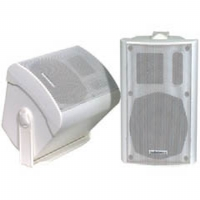 "AudioSource LS-545 5 1/4"" 100-Watt 2-Way Indoor/Outdoor White Speakers"