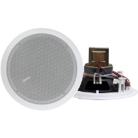 "Pyle PD-IC60T 6.5"" 250-Watt 2-Way In-Ceiling Speaker - With 70V Transformer"