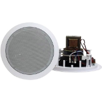 "Pyle PD-IC80T 8"" 300-Watt 2-Way In-Ceiling Speaker - With 70V Transformer"