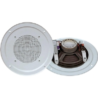 Pyle PDICS64 6.5&quot; Full Range 150-Watt In-Ceiling Speaker With 1.2&quot; Tweeter (Single)