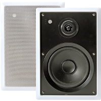 "Pyle PD-IW65 6.5"" 200-Watt 2-Way In-Wall Speakers"