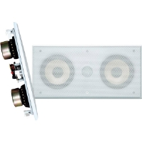 "Pyle PDIWCS56 Dual 5.25"" 300-Watt 2-Way In-Wall LCR Speaker"