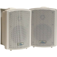 Pyle PD-WR3T 3.5&quot; 200-Watt Weatherproof Speakers With 70V Transformer