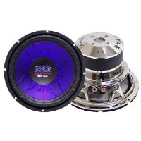 Pyle PL-1090BL Blue Wave Series High-Powered Subwoofer - 10&quot;, 1000W Max