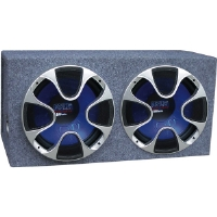Pyle PLBS122 Blue Wave Series Dual 12&quot; 1000-Watt Bandpass System
