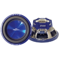 Pyle PL-BW104 Blue Wave High-Powered Subwoofer - 10&quot;, 1000W Max