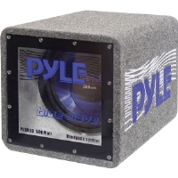 "Pyle PLQ-B12 Blue Wave Series 12"" 600-Watt Bandpass Box"