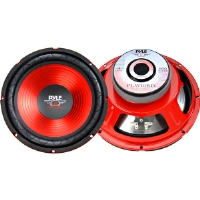 "Pyle PLW-10RD 10"" Red Label Series High Performance Subwoofer - 600W Max"