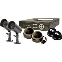 Security Labs SLM429 Multiplexed DVR Surveillance System With Built In Internet Remote Viewing