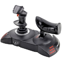 Thrustmaster 2960703 T.Flight Hotas X Joystick for PS3� and PC with Detachable Throttle Control