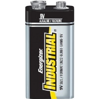 Energizer EN22 IND 9V Industrial Strength Alkaline Battery, 625mAh - 12-pack