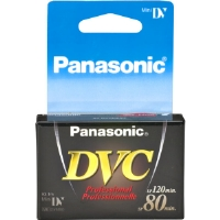 Panasonic DVM-80XJ1 Professional-Quality miniDV Videocassette - 80 Minutes, Single