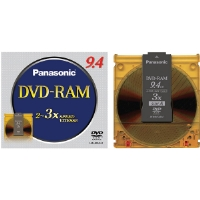Panasonic LM-HB94LU 3x Rewritable Double-Sided DVD-RAM - Single