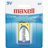 Maxell 9V MAXELL Gold Series 9V Alkaline Battery Retail Pack - Single