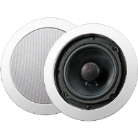 "AudioSource AC5C 5.25"" 100-Watt 2-Way In-Ceiling Speakers - White"