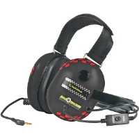 Koss RACE TRACKERBK Black Scanner Headphone With Passive Noise Cancellation