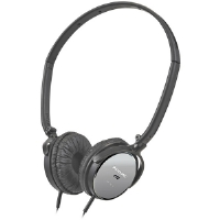 Panasonic RP-HC101-K On-Ear Noise Canceling Headphones
