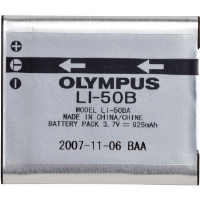 Olympus LI-50B LI-50B Lithium Ion Battery