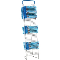 Atlantic 6373-5593 Nestable Wire 42-Blu-ray� Rack