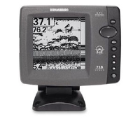"Humminbird 407380-1 718 Fishfinder - Sonar, 5"" FSTN LCD Display, 2400 Watts Output, 1000' Depth"