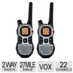 Motorola Talkabout Two-Way Radio - 22 Channels, Up To 27 miles, iVOX - MJ270