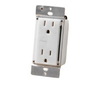 Zwave HA01 Receptacle - LED Indicator, AC Outlet, Hard Wire Connection