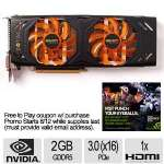 Zotac Nvidia GeForce GTX 770 2GB AMP! Edition Graphics Card - 2GB GDDR5, PCIe 3.0 16x, DirectX 11.1 (Feature Level 11_0) - ZT-70303-10P