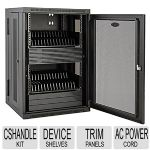 TrippLite Chromebook Charging Station - Device Shelves, Trim Panels, USB Power Adapter, AC Power Cord - CS32AC
