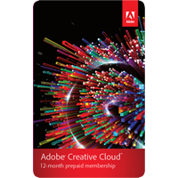 ADOBE CREATIVE CLOUD  MEMBERSHIP FULL - 1 YEAR