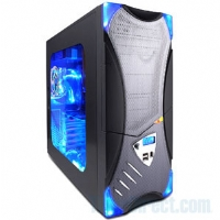 CybertronPC � Intel Pentium 4 3.0GHz / Foxconn 45CM Motherboard / Realtek 5.1 Channel Audio On-Board / 10/100 LAN / 350 Watt PSU / Aspire/Apevia Silver/Black X-Plorer Barebone Gamer