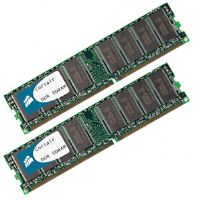 Corsair Value Select Dual Channel 1024MB PC3200 DDR 400MHz Memory ( 2 x 512MB )