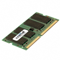 Crucial 512MB PC3200 DDR 400MHz SODIMM Laptop Memory