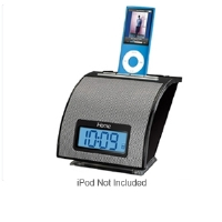 iHome iH11 Alarm Clock for iPod - Universal Dock, Line-in Jack, Sleep Timer, Black
