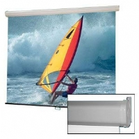 "Draper Luma 99"" Diagonal 1:1 Format Pull Down Projection Screen"