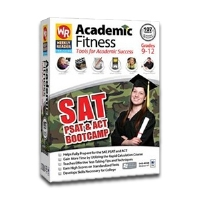 Weekly Reader Academic Fitness SAT PSAT & ACT Boot Camp