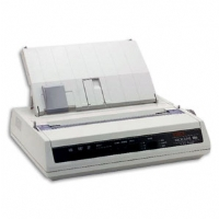 OKI Microline 186 Black And White Serial Dot Matrix Printer