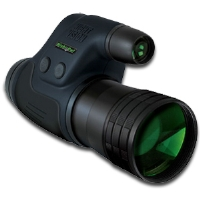 Night Owl NONM4X-I Lightweight Night Vision Monocular - 4x Zoom, 500x Ambient Light Amplification, Black